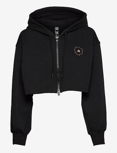SC Cropped Full Zip Hoodie W - gensere og hettegensere - black