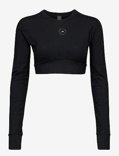 TrueStrength Yoga Crop Top W - tops & t-shirts - black