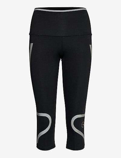 TruePace HEAT.RDY Mid Waist 3/4 Running Tights W - running & training tights - black