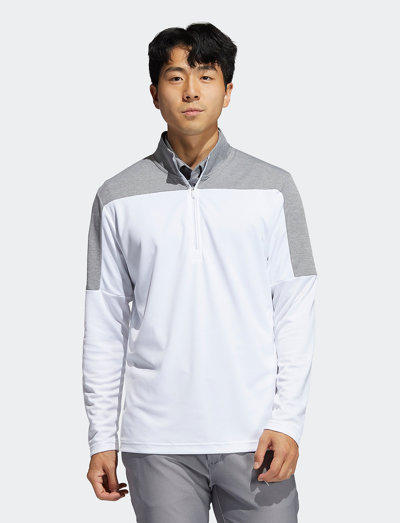 adidas Golf - 1/4 Z UPF LTWGT - basic sweatshirts - white - 0