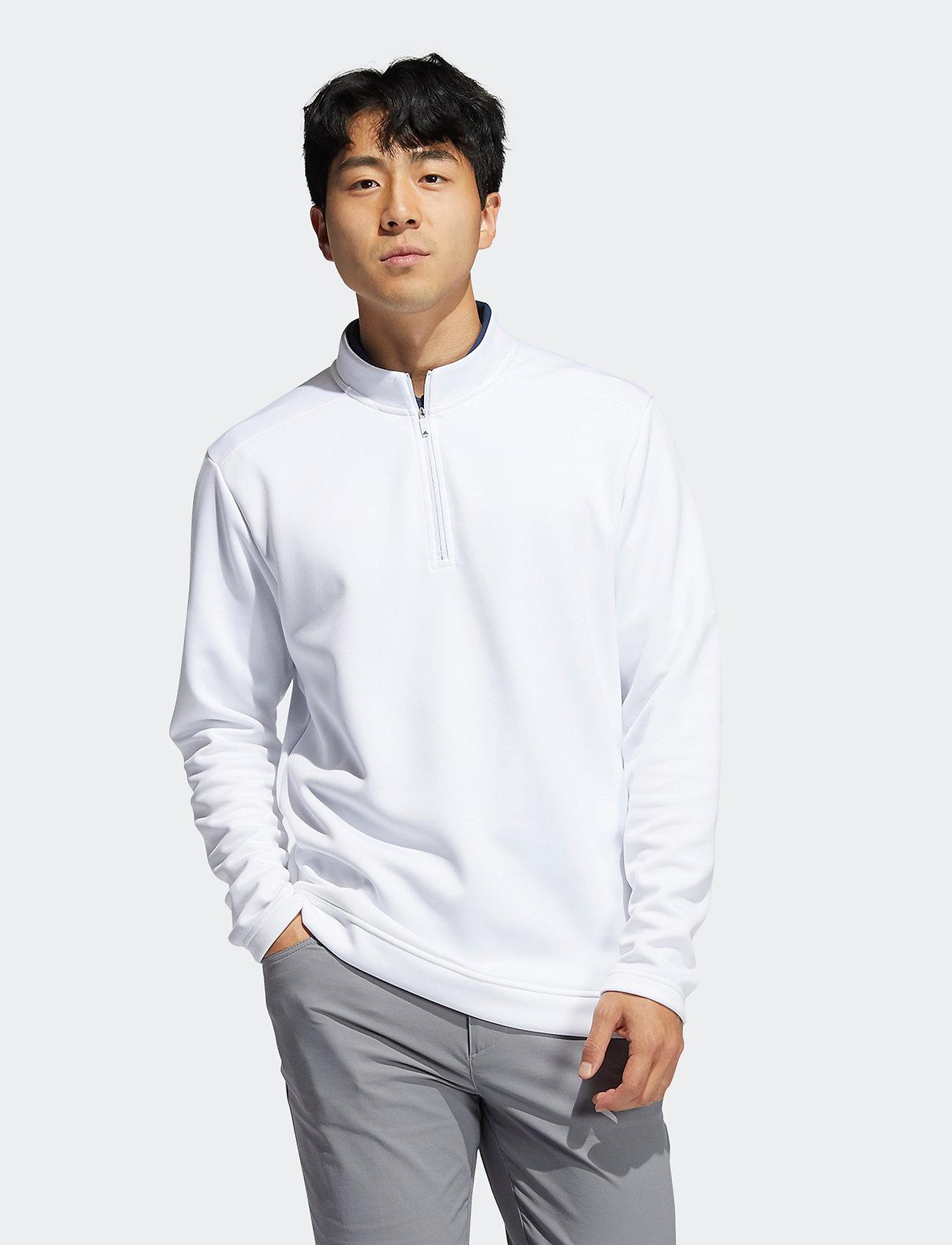 adidas Golf - CLUB 1/4 ZIP - hauts à manches longues - white - 0