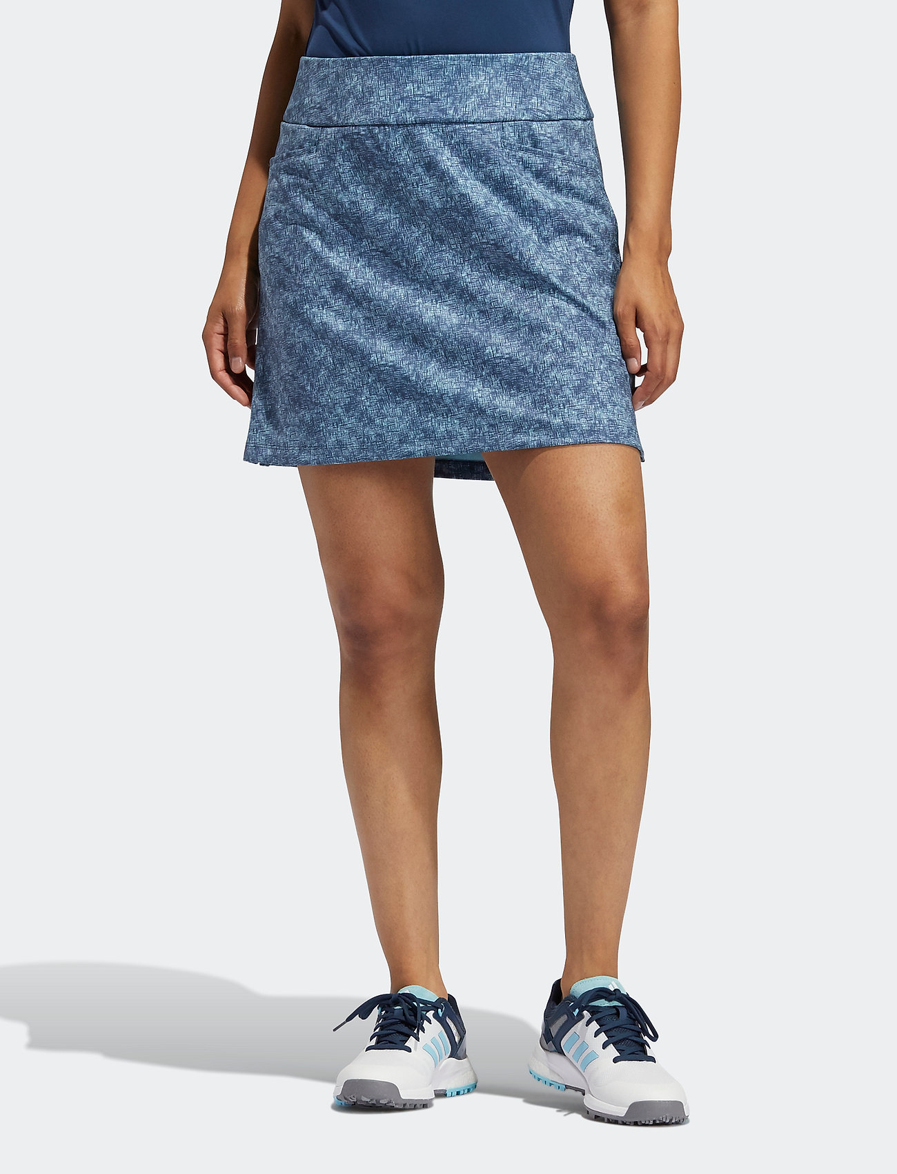 adidas Golf - ULT PRNT SKORT - sports skirts - hazsky/crenav - 0