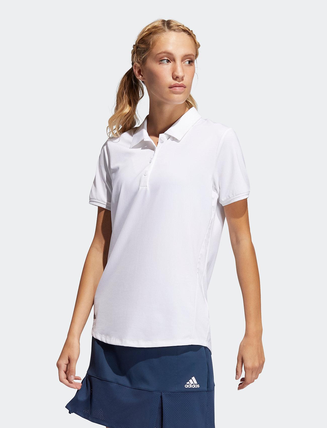 adidas Golf - ULT SLD SS P - polos - white - 0