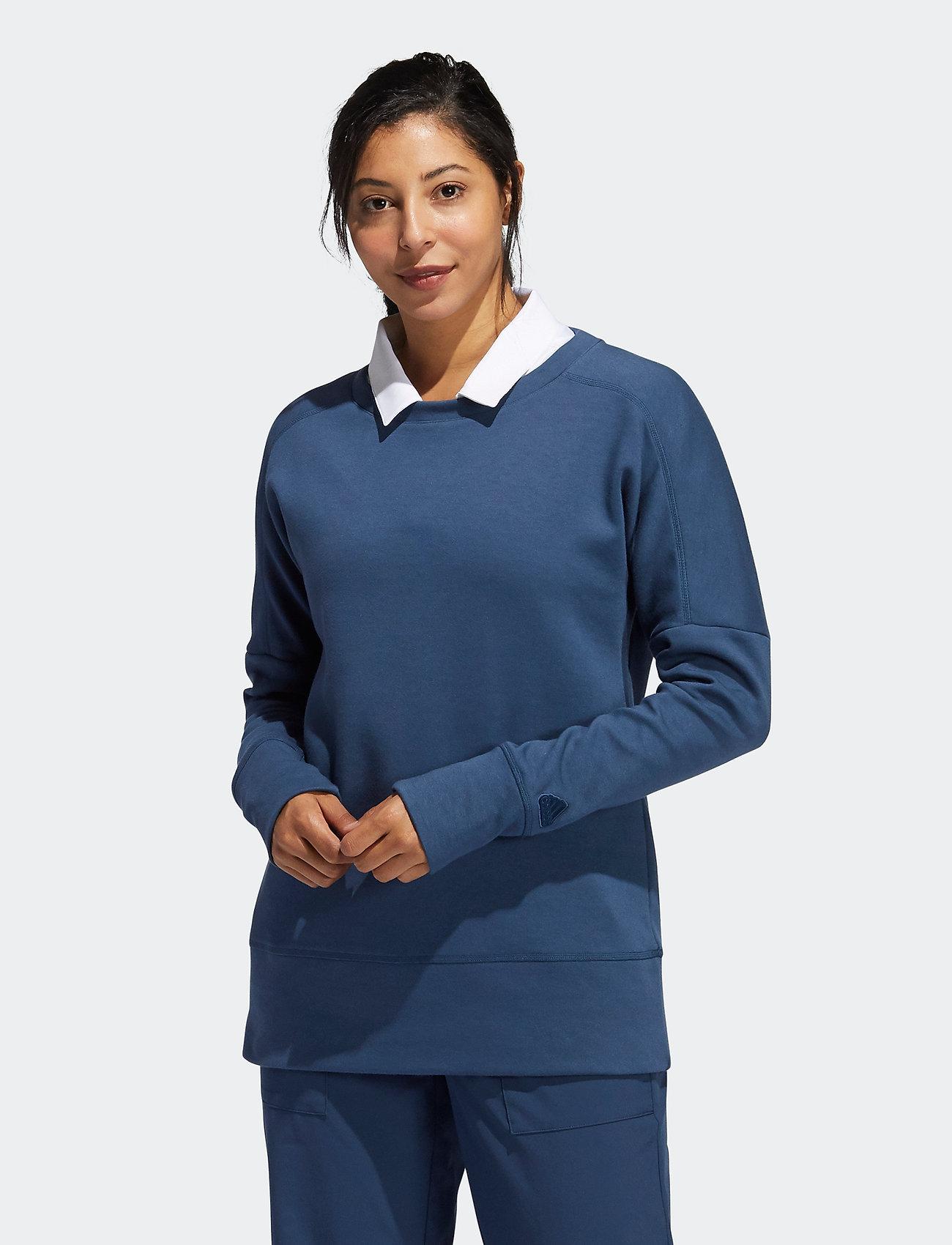 adidas Golf - GO-TO CRW SWTSH - sweatshirts - crenav - 0