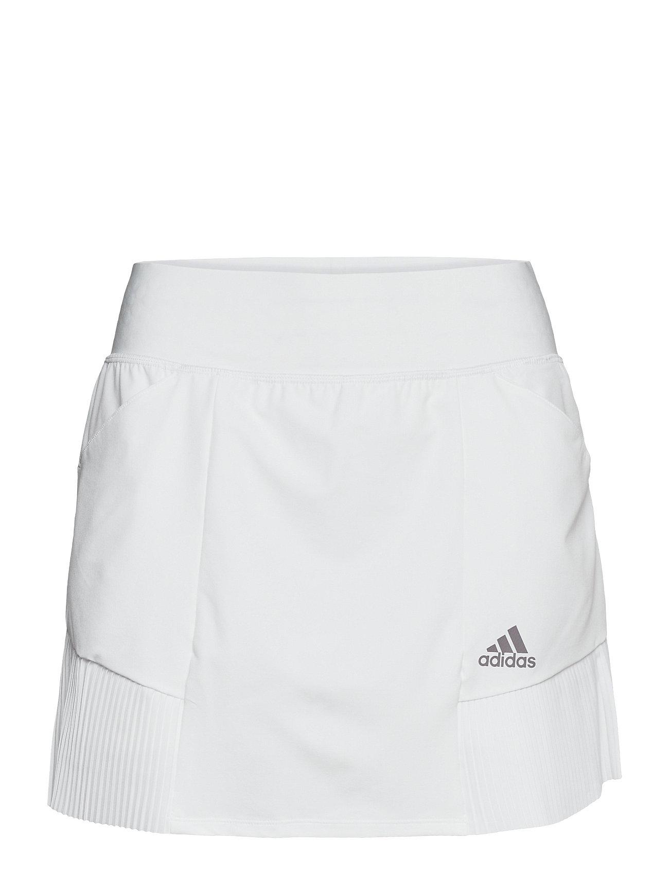 Sp Plt Skt Kort Nederdel Hvid Adidas Golf