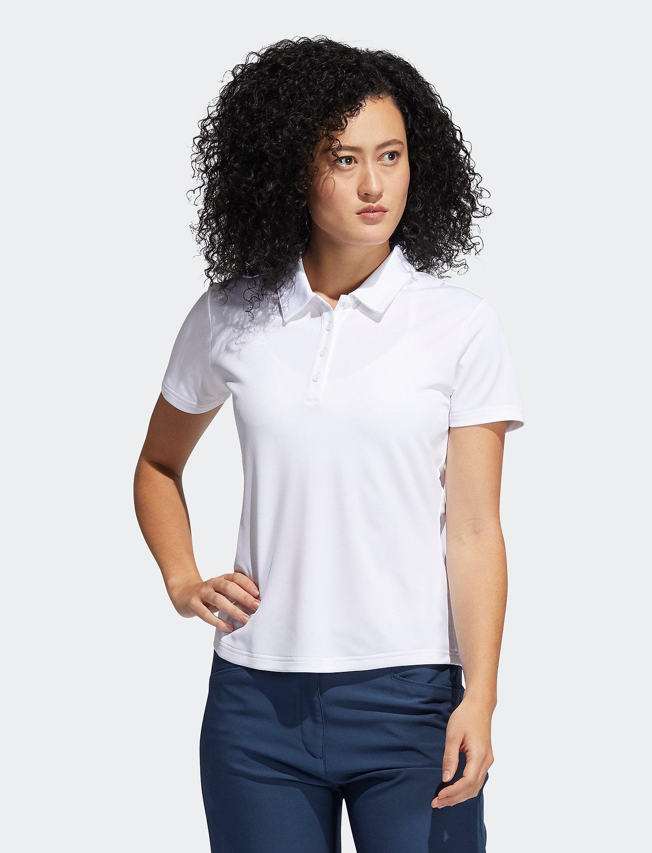 adidas Golf - PERF SS P - polos - white - 0
