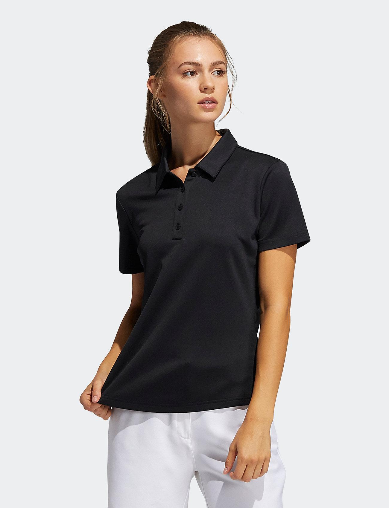 adidas Golf - PERF SS P - polos - black - 0