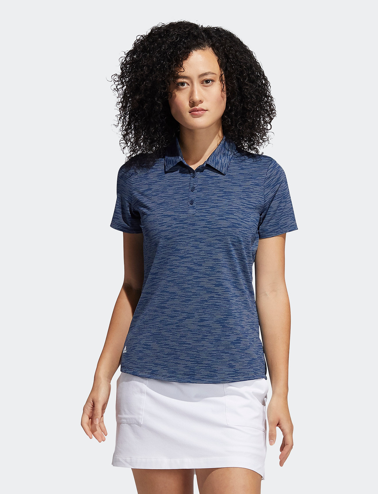adidas Golf - SPCEDYE SS P - polos - crenav/white - 0