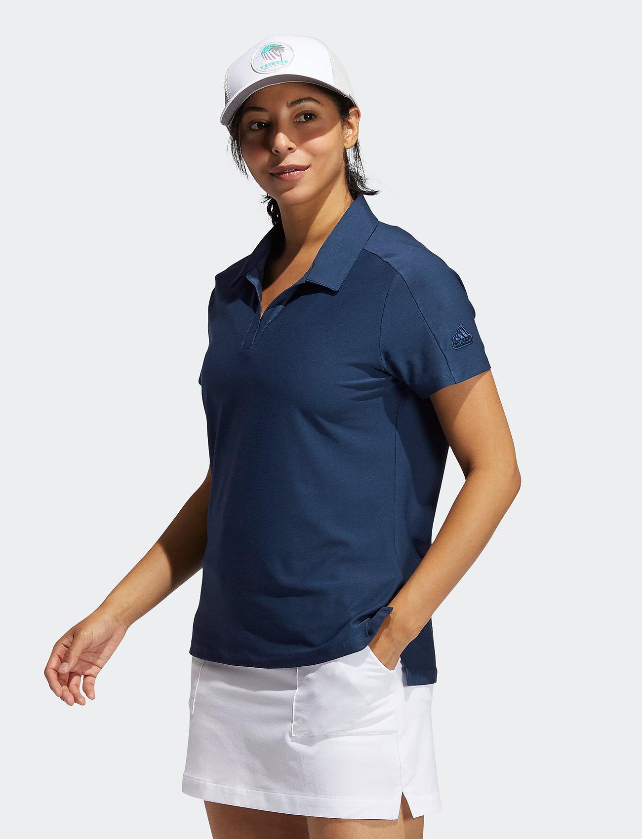 adidas Golf - GO-TO SS P - polos - crenav/crenav - 0