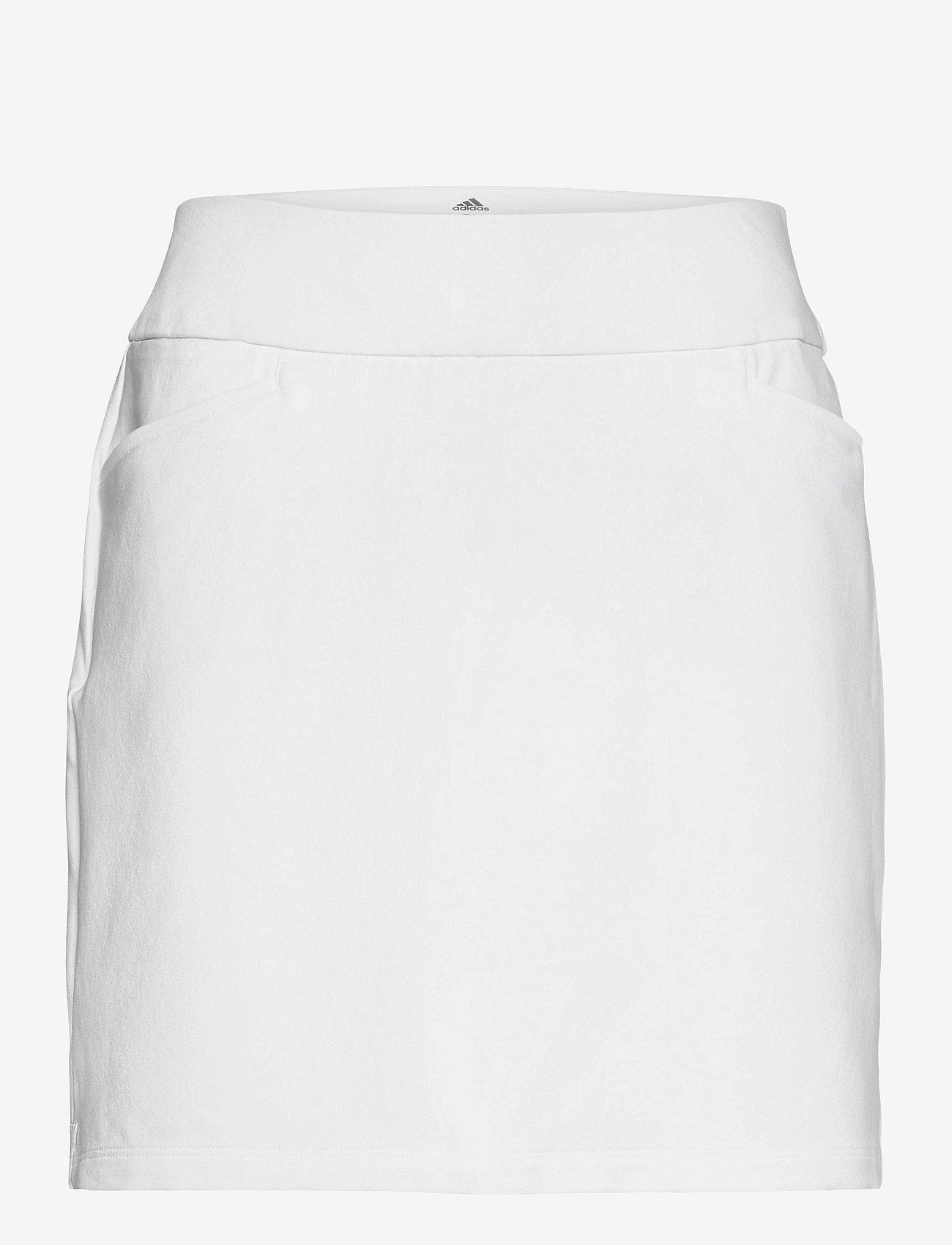 adidas Golf - STAR PLON SKT - sports skirts - white - 0