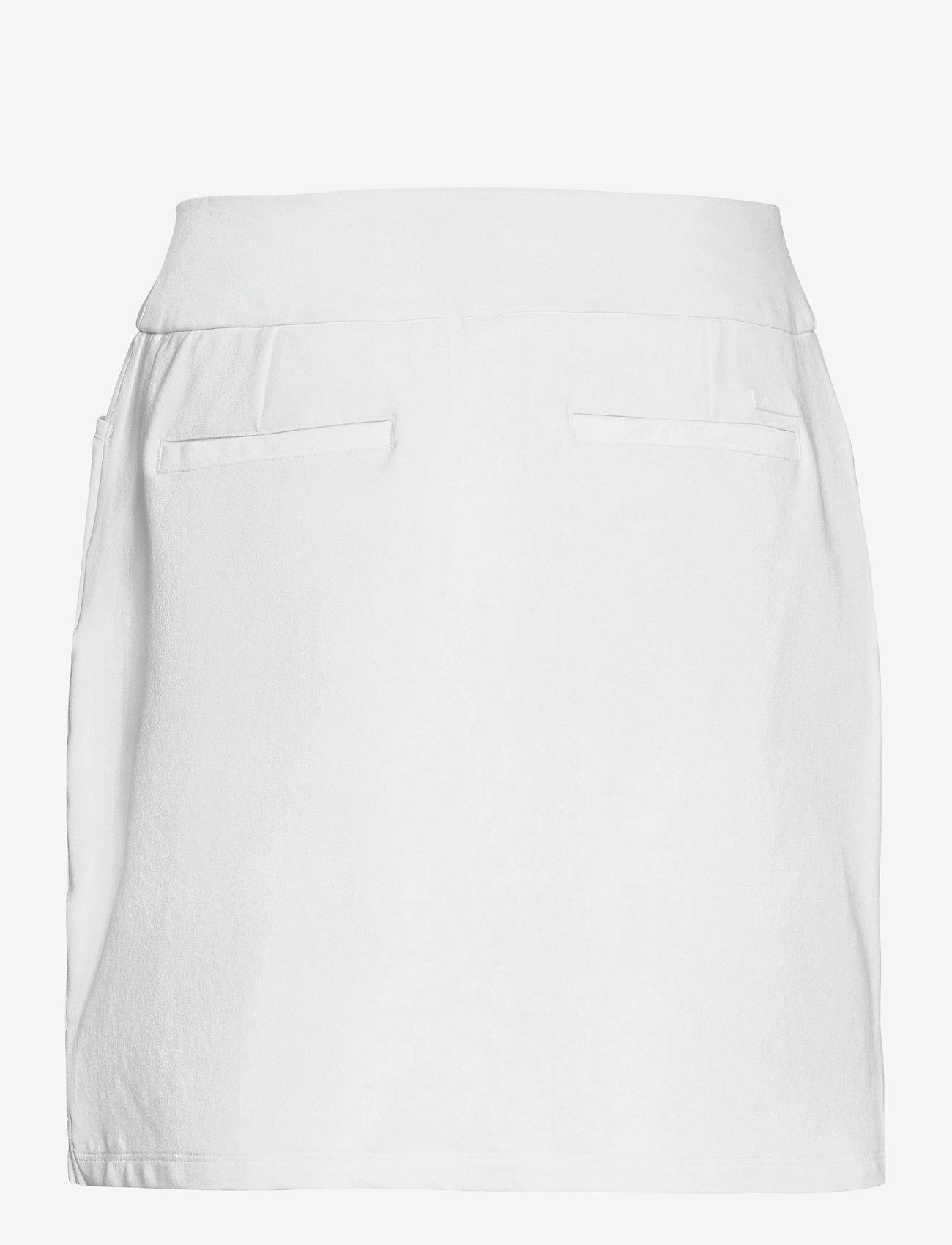 adidas Golf - STAR PLON SKT - sports skirts - white - 1