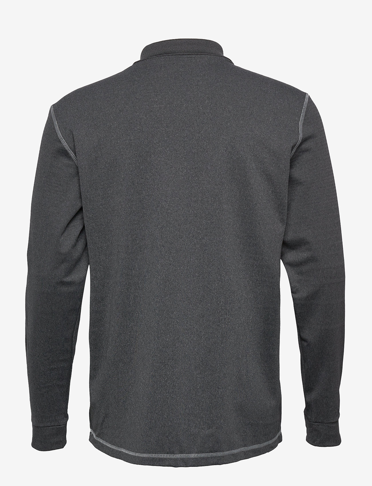 adidas Golf - LS THERMAL POLO - paidat - blkhea - 1