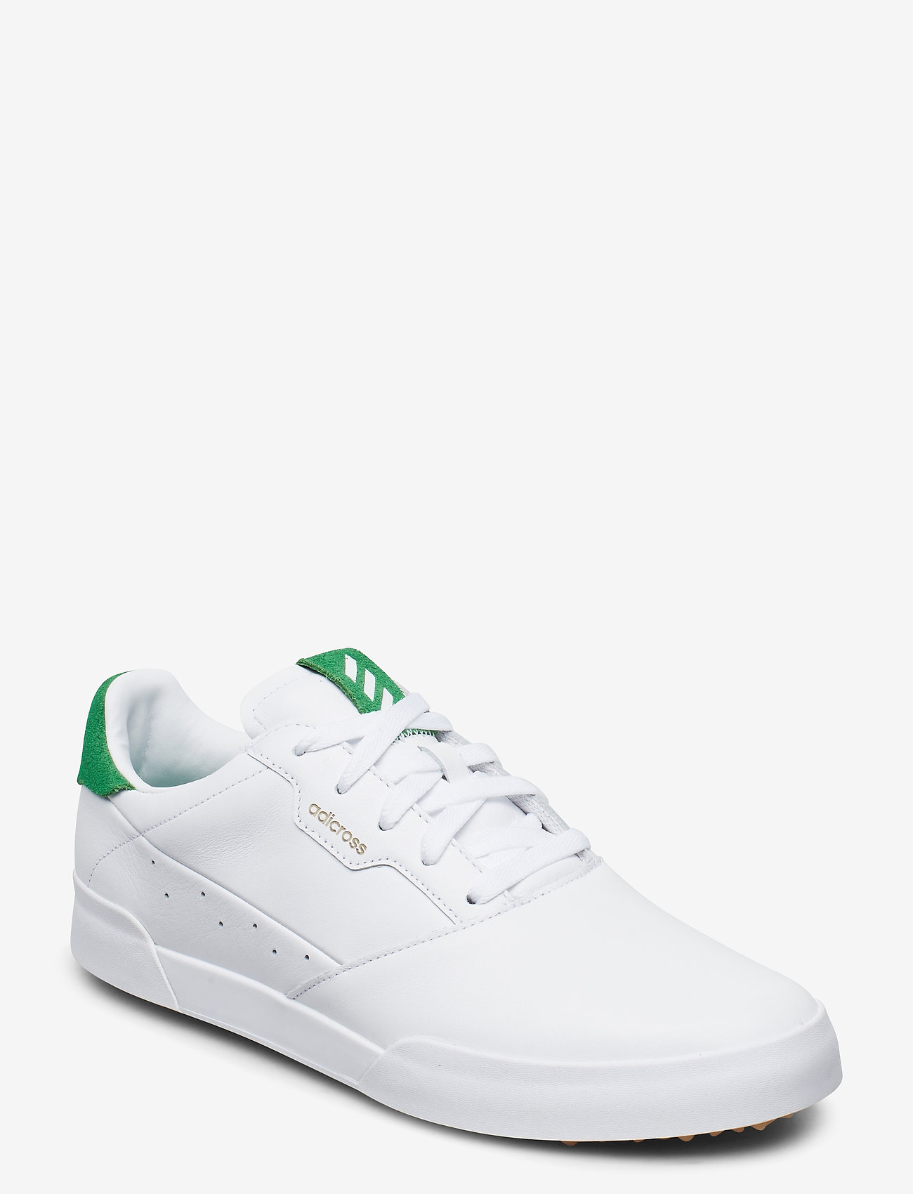 adidas Golf - ADICROSS RETRO - golfsko - ftwwht/green/gum3 - 0