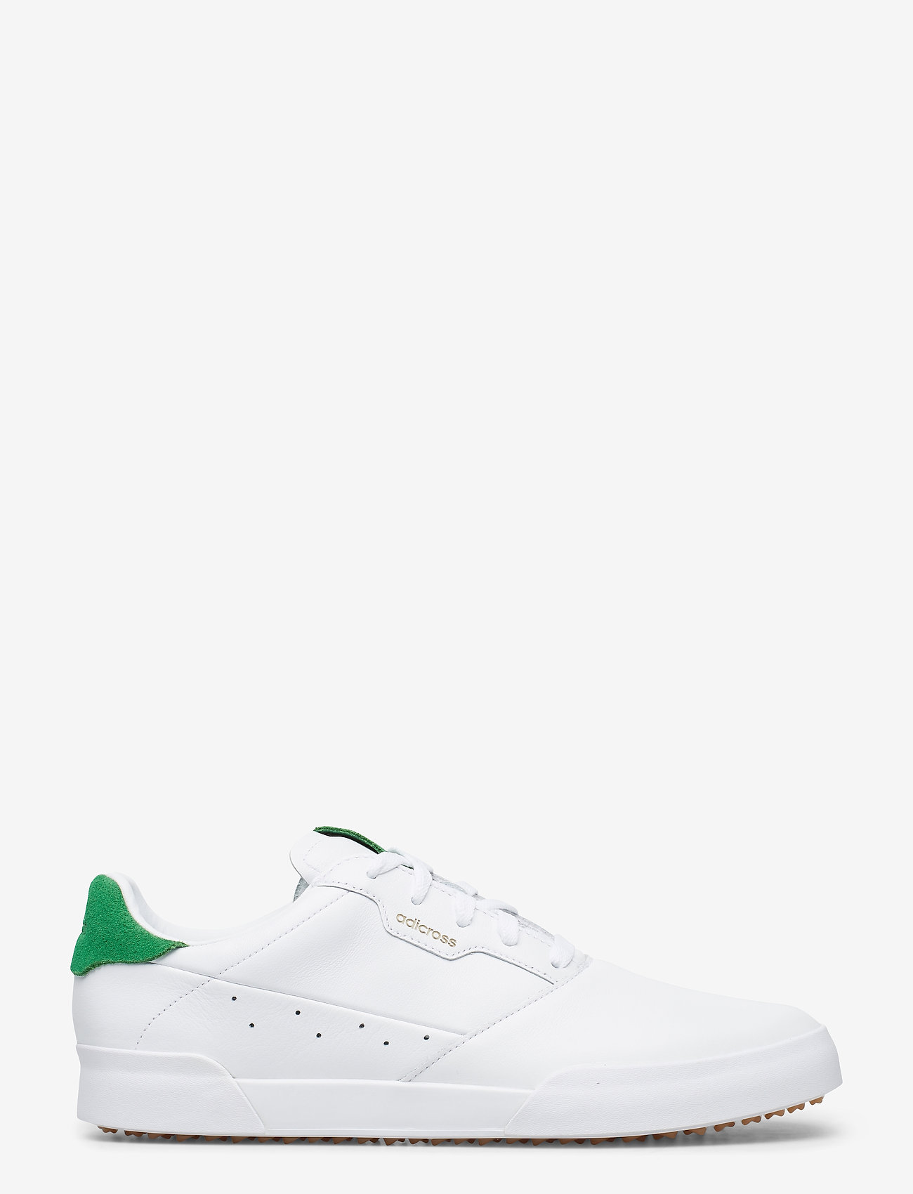 adidas Golf - ADICROSS RETRO - golfsko - ftwwht/green/gum3 - 1