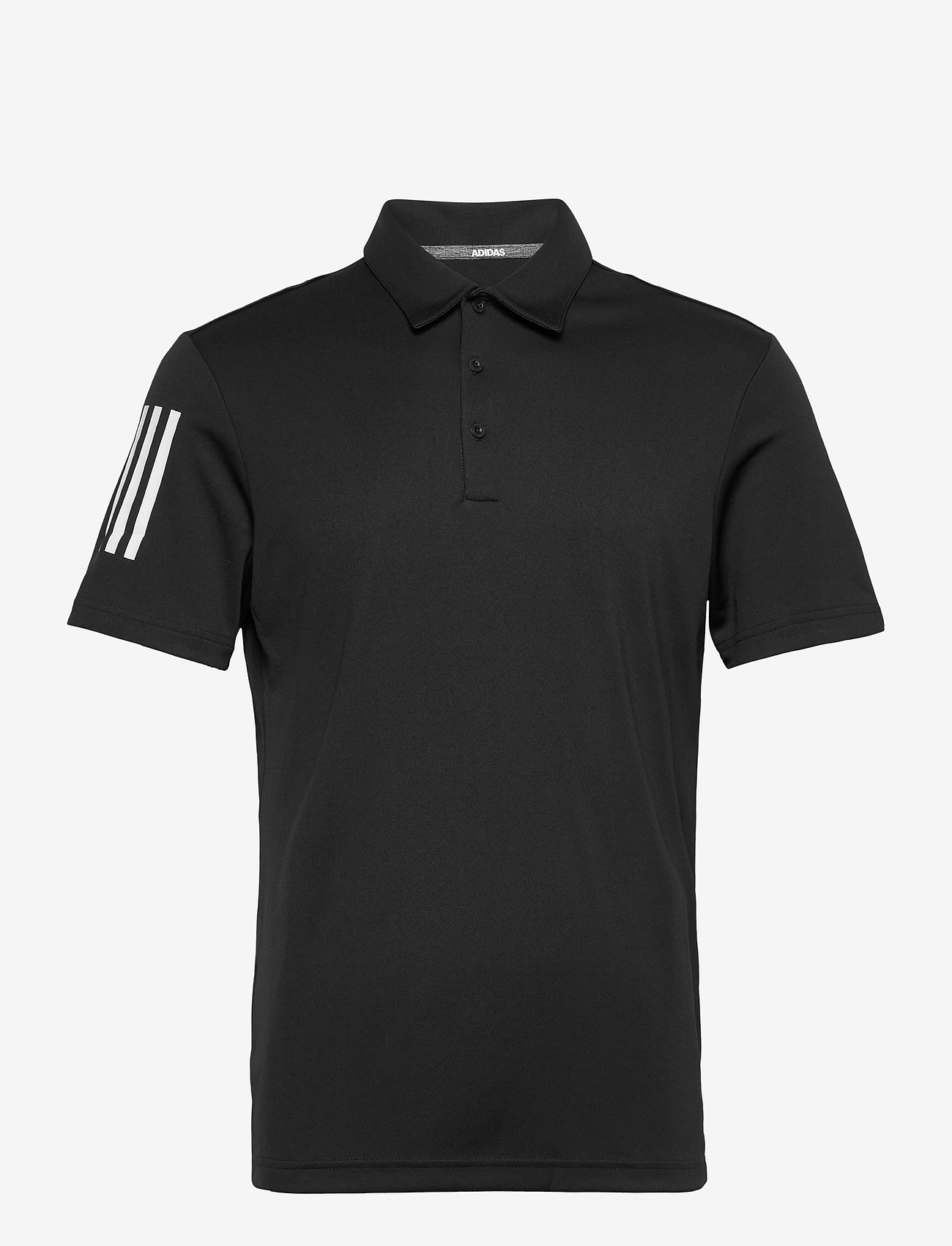 adidas Golf - 3-Stripe Basic - oberteile & t-shirts - black/white - 0