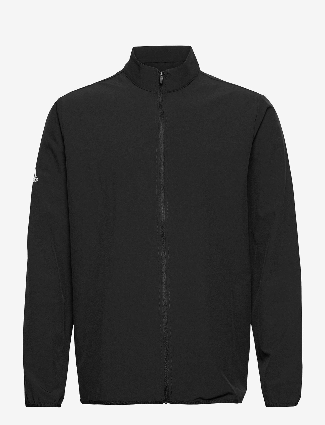 adidas Golf - CORE WIND J - golf jackets - black - 0