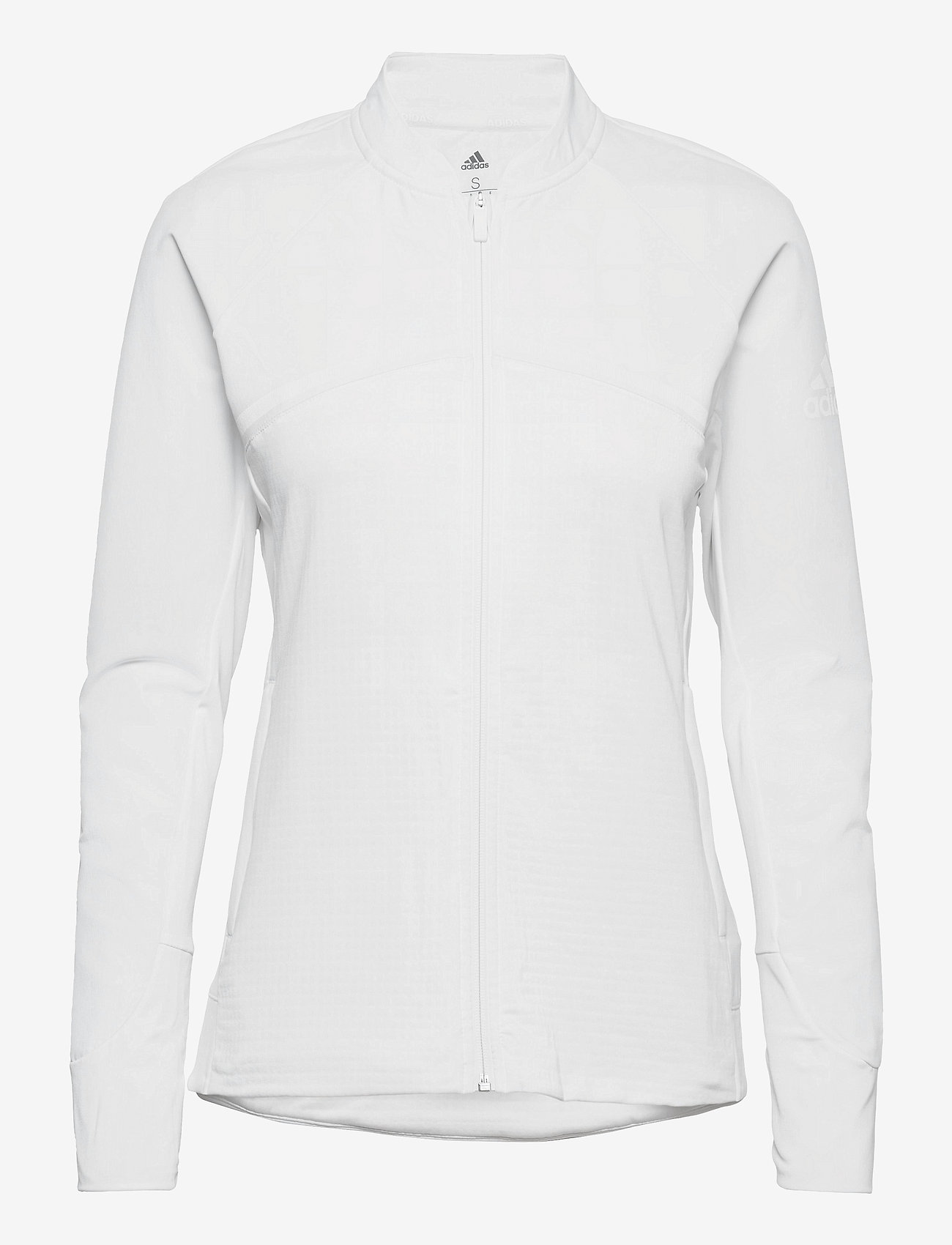 adidas Golf - HYBRID F ZIP J - fleece - white - 1