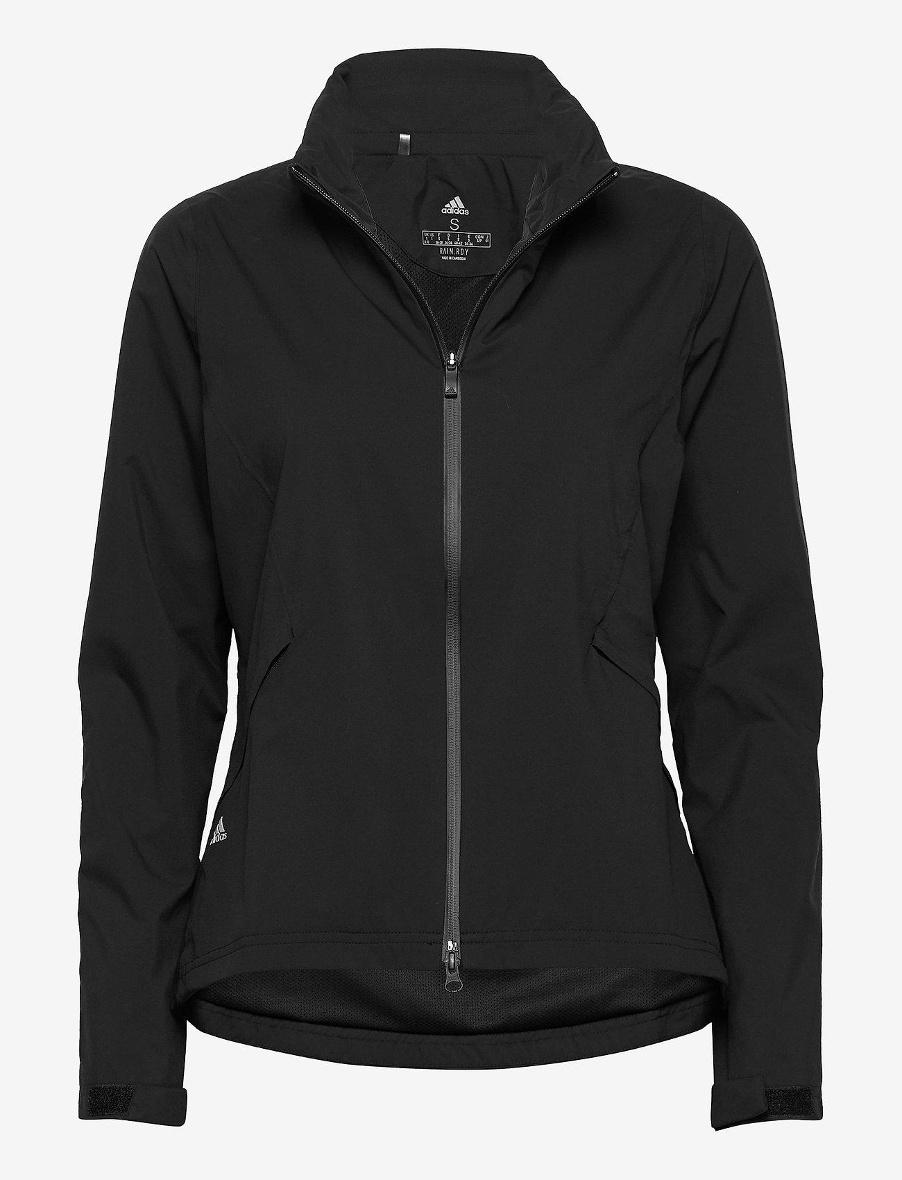 adidas Golf - RAIN.RDY  JKT - kurtki golfowe - black - 1