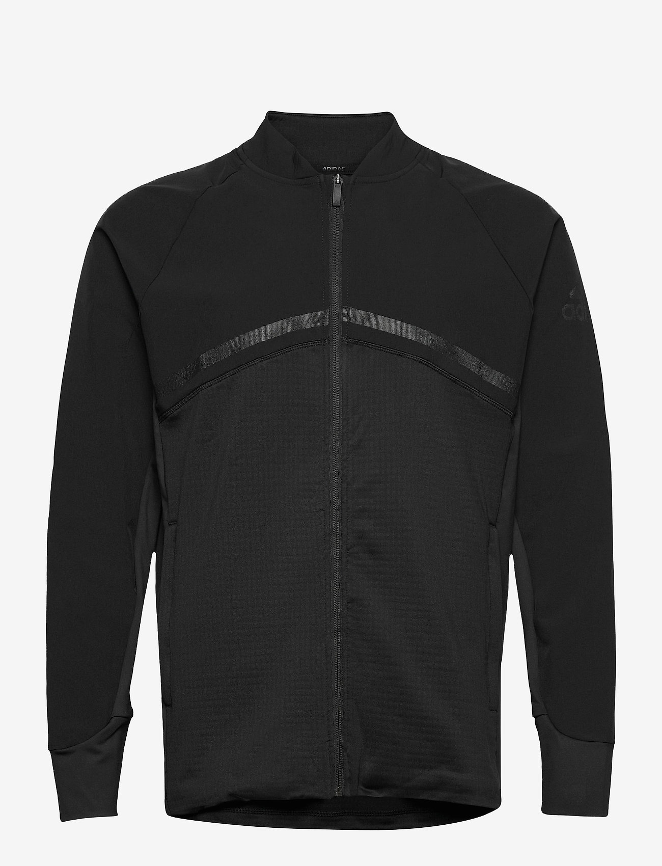 adidas Golf - HYBRID F ZIP J - golf jackets - black - 0
