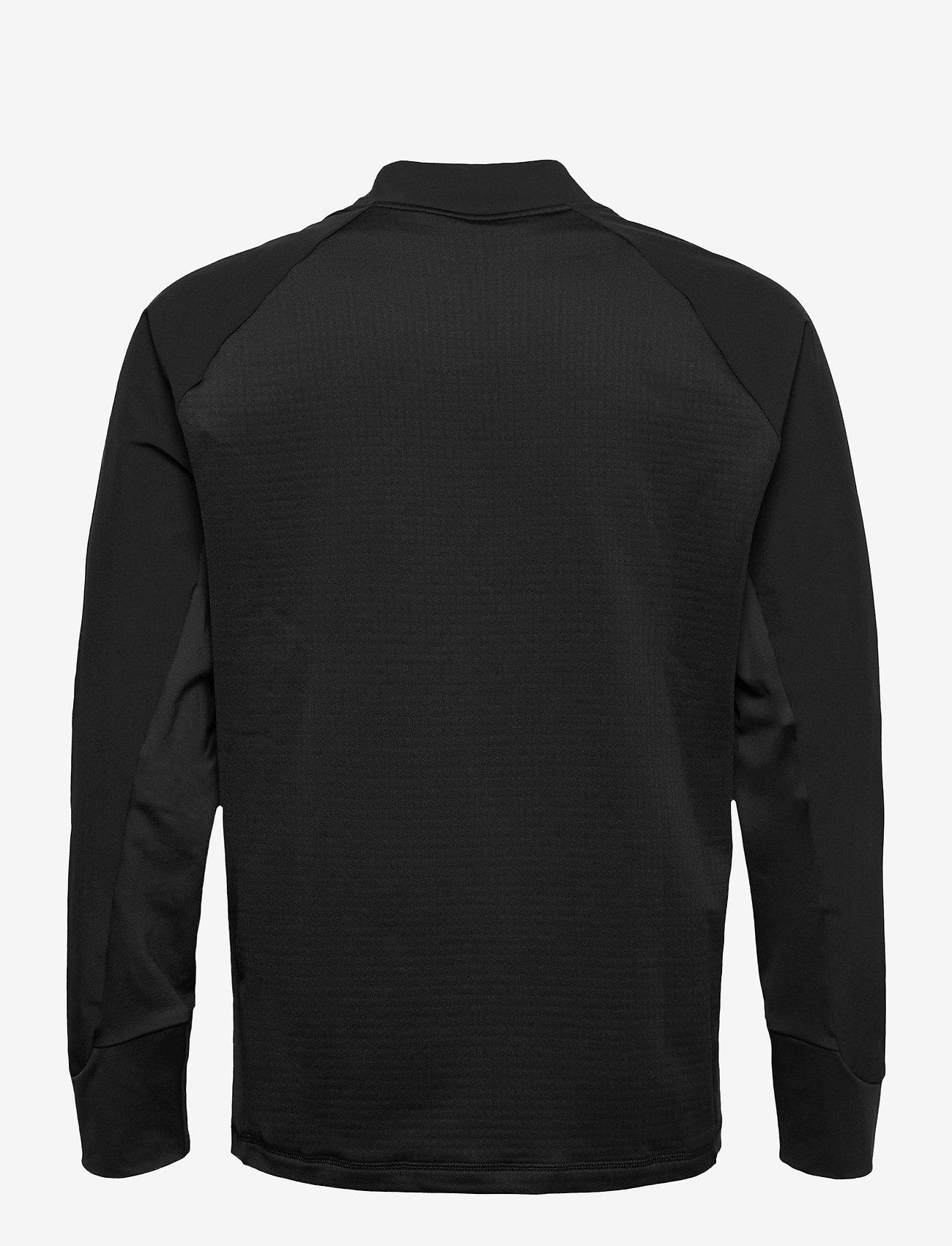 adidas Golf - HYBRID F ZIP J - golf jackets - black - 1