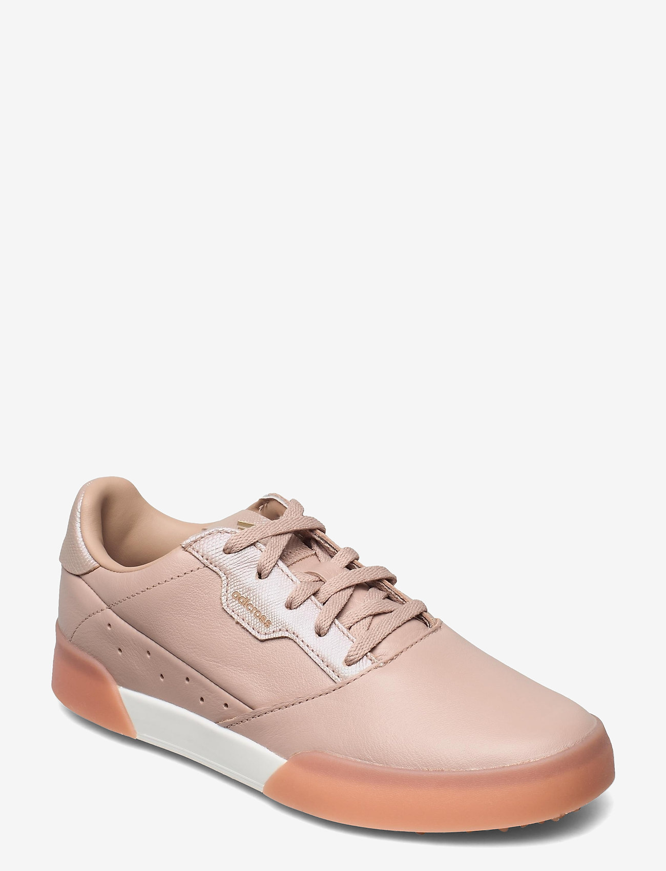 adidas Golf - W ADICROSS RETRO - golf shoes - ashpea/goldmt/cwhite - 0