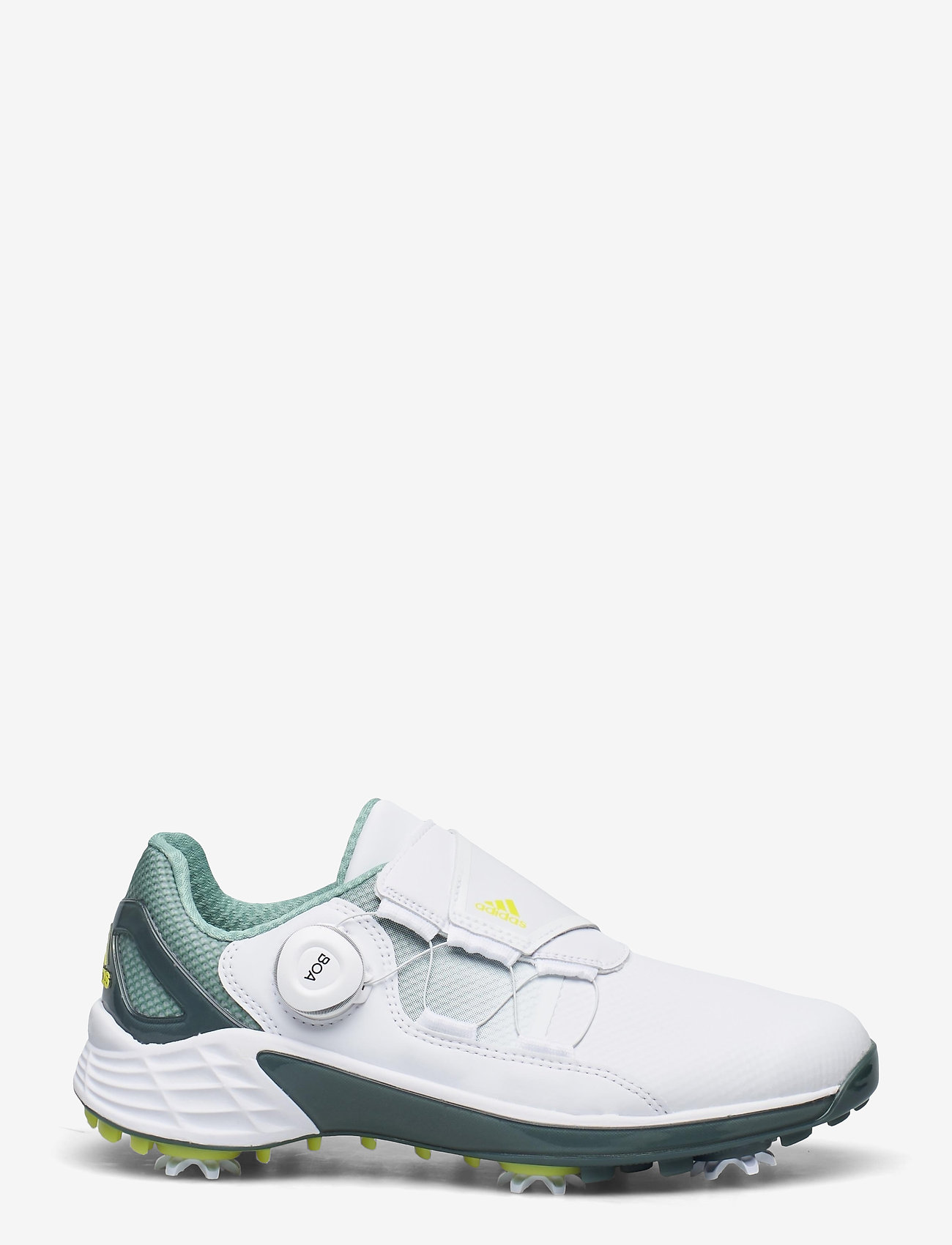 adidas Golf - W ZG21 BOA - golf shoes - ftwwht/aciyel/hazgrn - 1