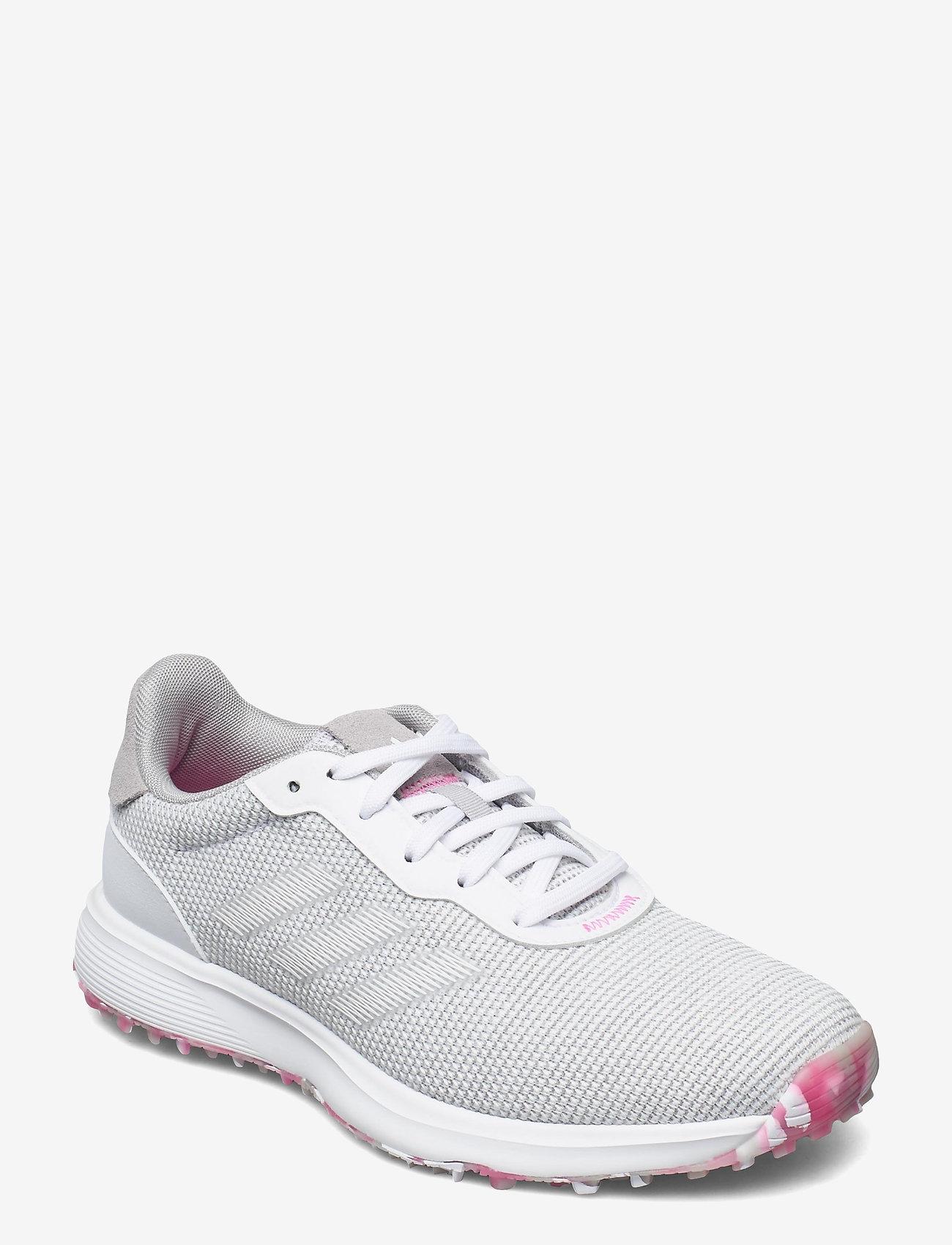 adidas Golf - W S2G SL - golf shoes - grethr/ftwwht/scrpnk - 0