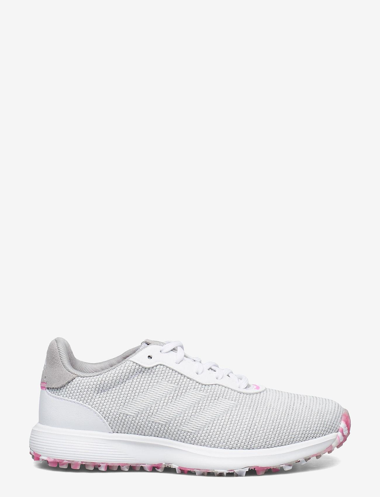 adidas Golf - W S2G SL - golf shoes - grethr/ftwwht/scrpnk - 1
