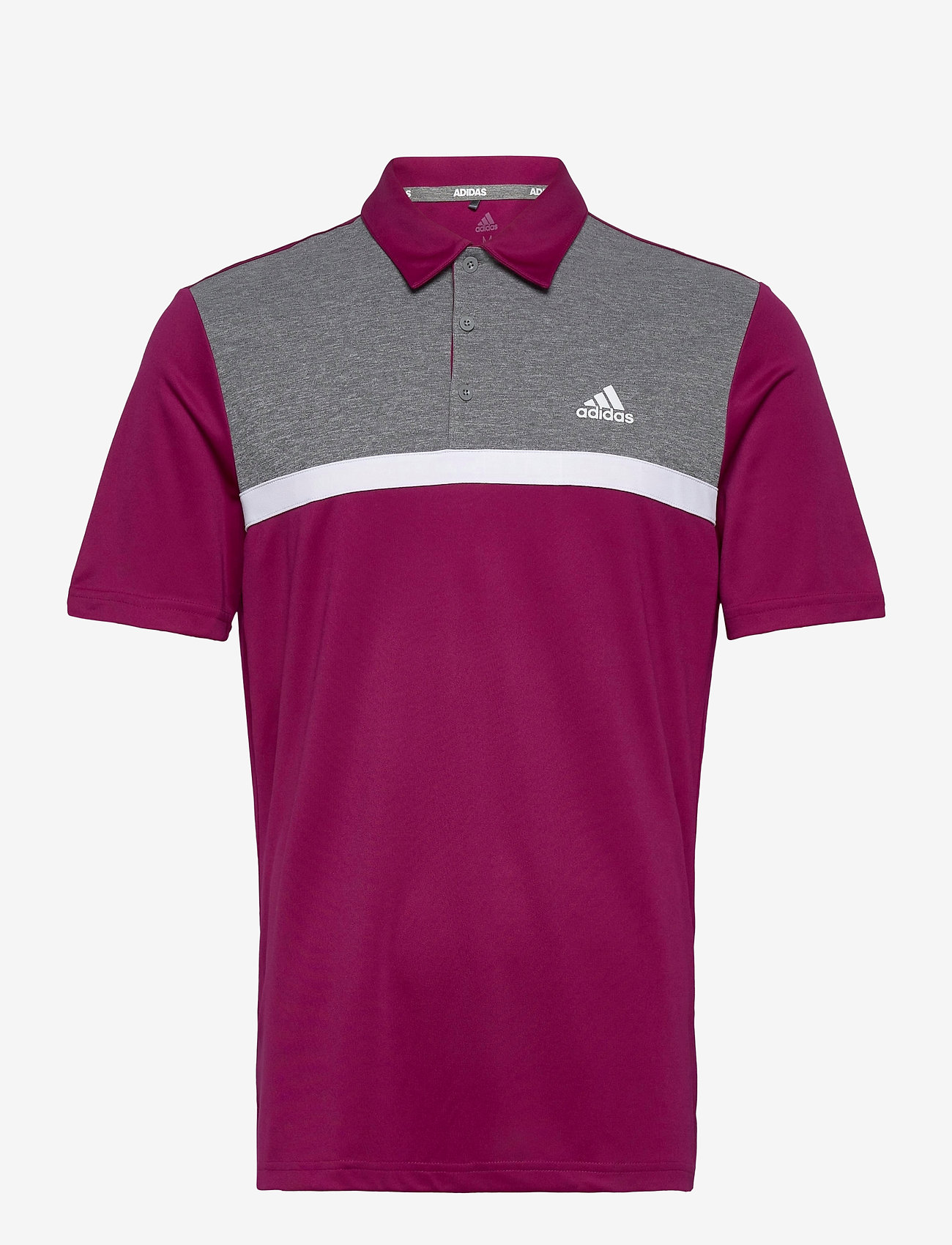 adidas Golf - Colorblk NVLTY - kurzärmelig - powber/blckme - 0