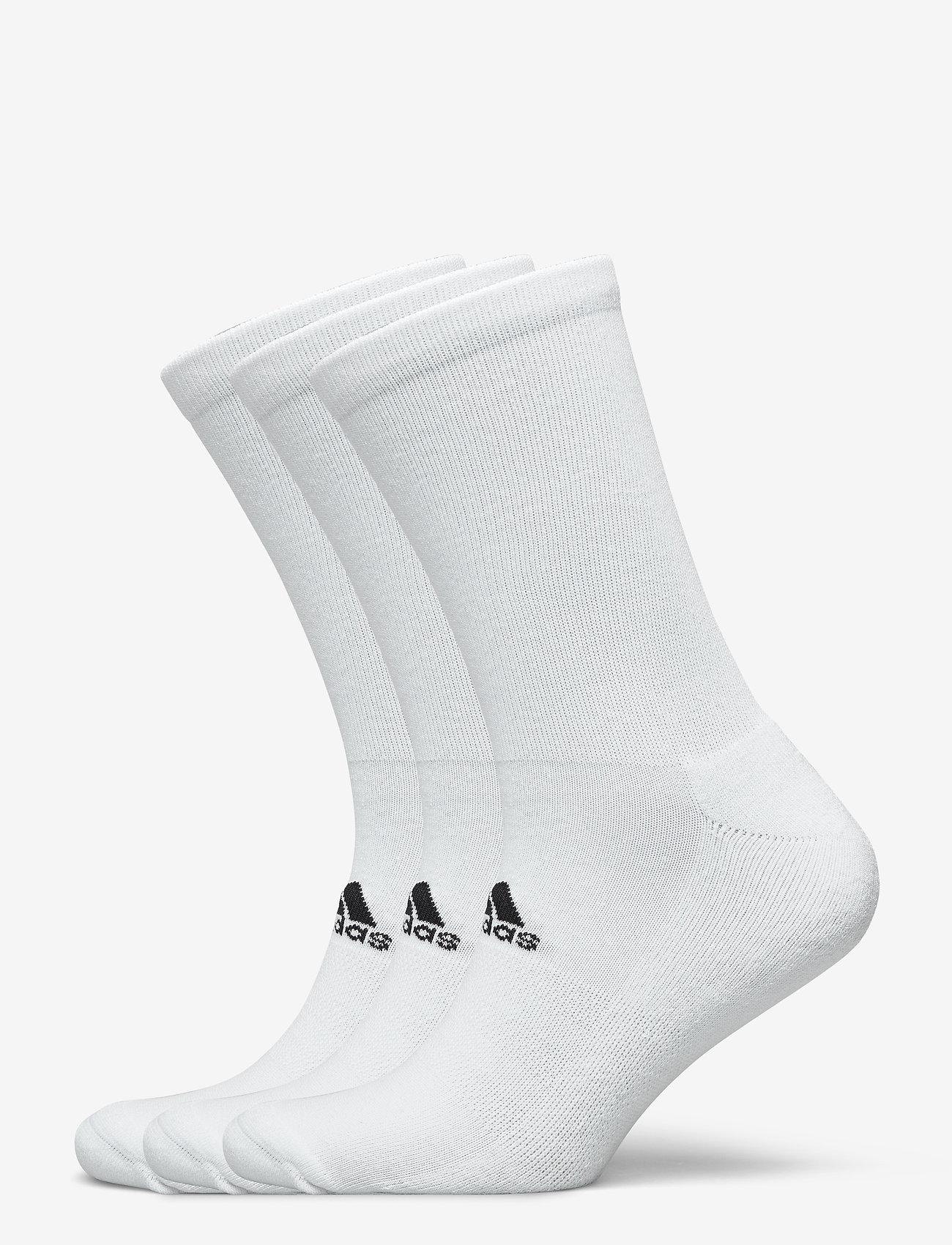 adidas Golf - 3 PK CREW - sokker - white - 0