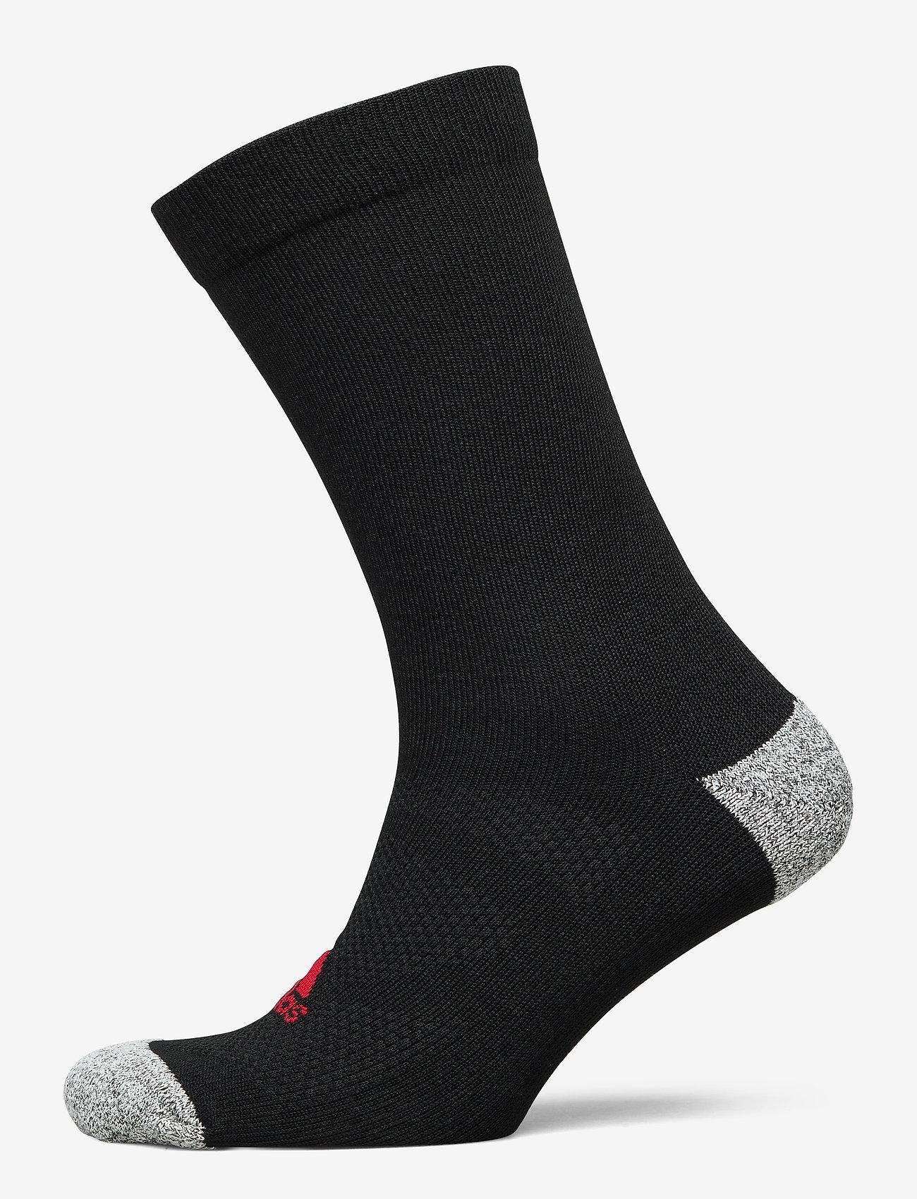 adidas Golf - TOUR CREW - sokker - black/scarle - 0