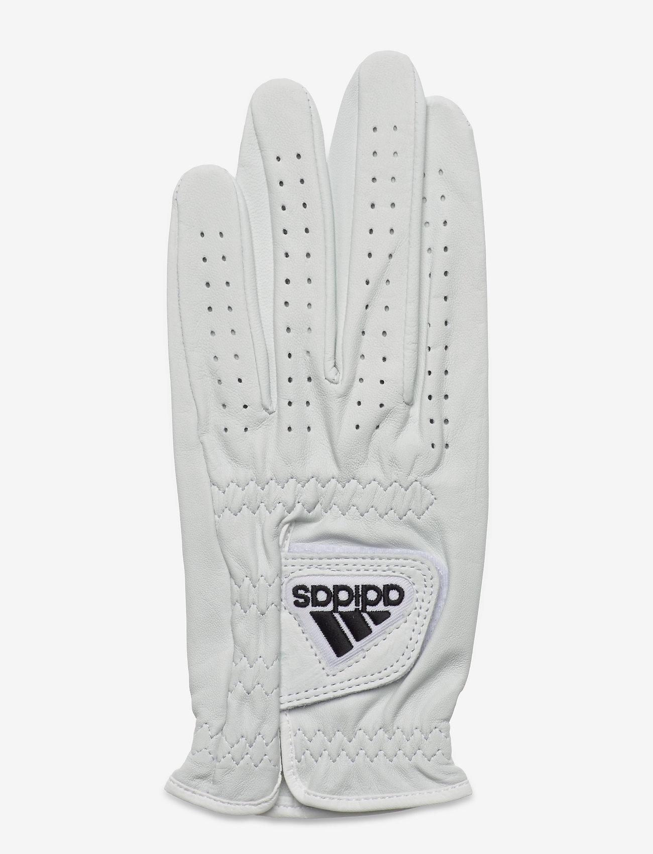 adidas Golf - LEATHER GLOVE - white/black - 0