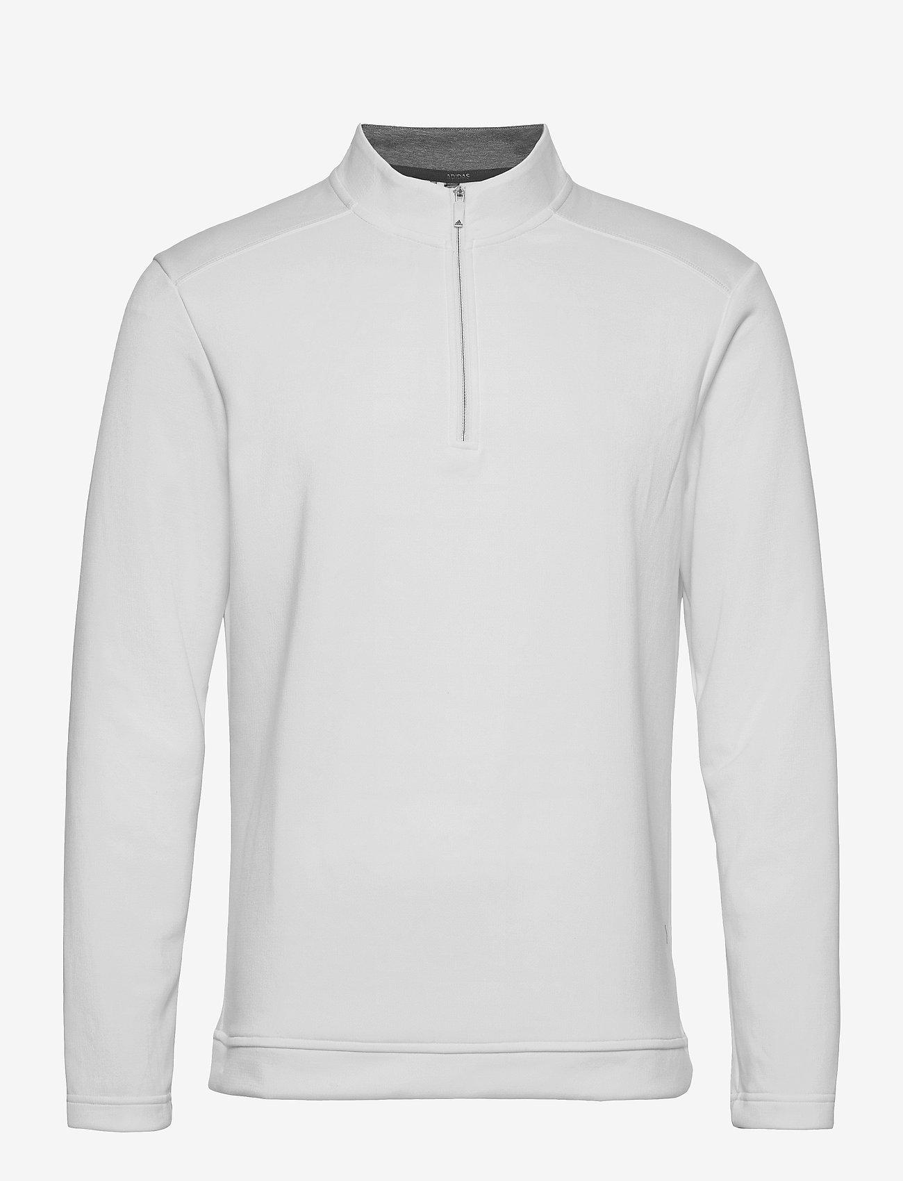adidas Golf - CLUB 1/4 ZIP - hauts à manches longues - white - 1