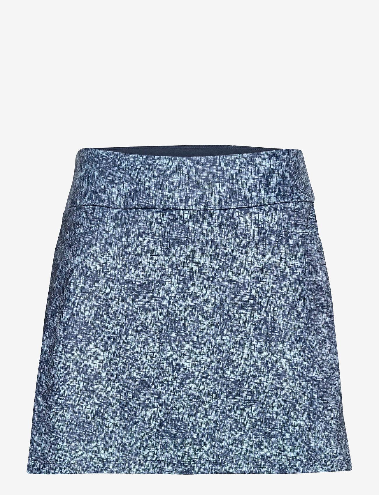 adidas Golf - ULT PRNT SKORT - sports skirts - hazsky/crenav - 1