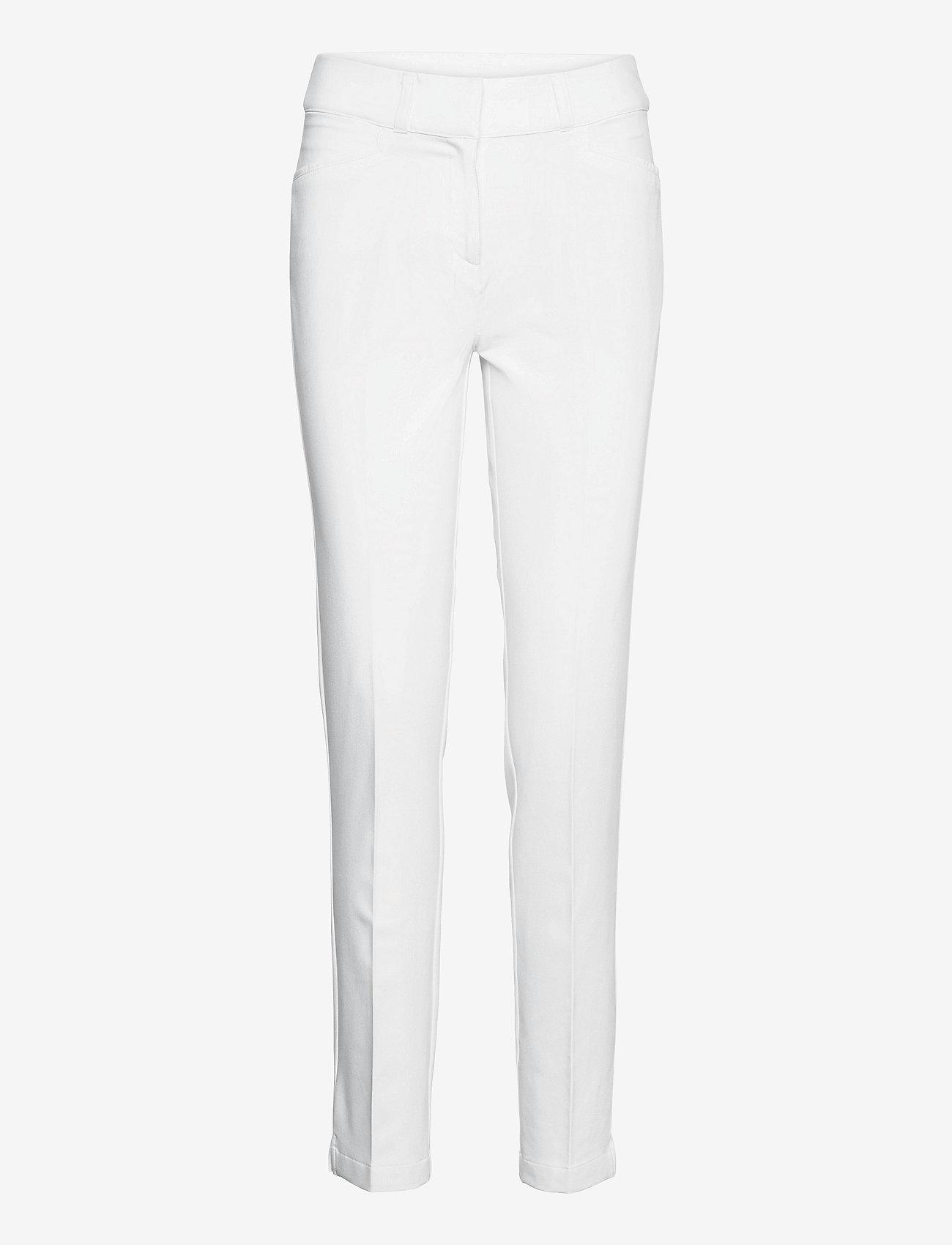 adidas Golf - FL LNGTH PANT - golf pants - white - 1