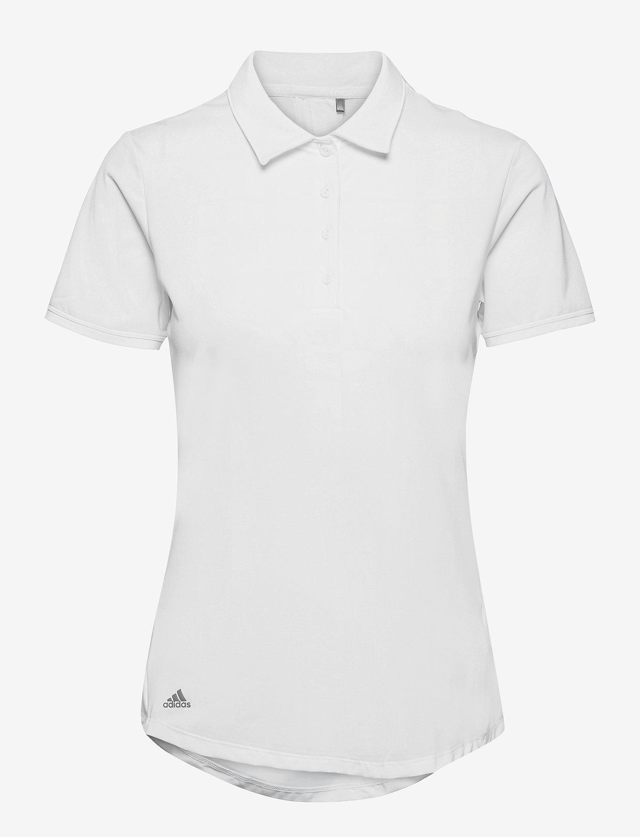 adidas Golf - ULT SLD SS P - polos - white - 1