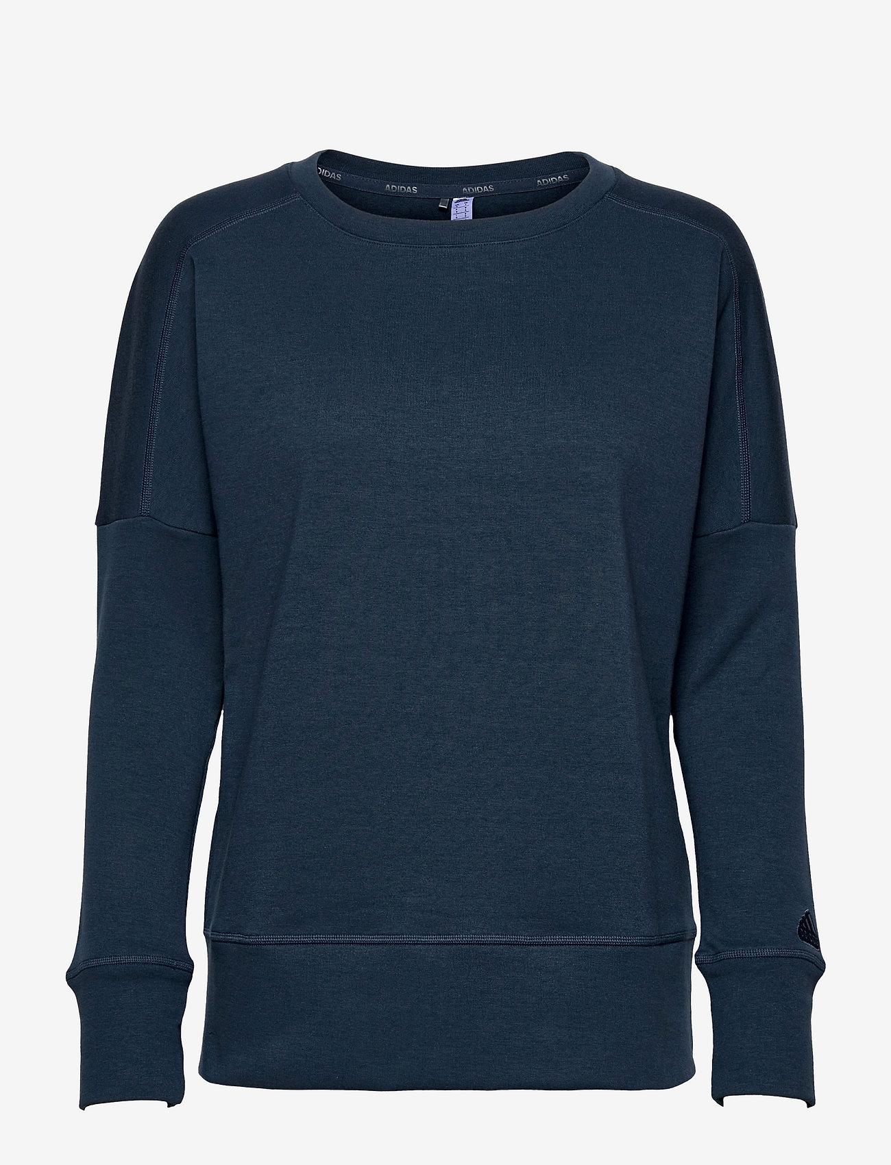 adidas Golf - GO-TO CRW SWTSH - sweatshirts - crenav - 1