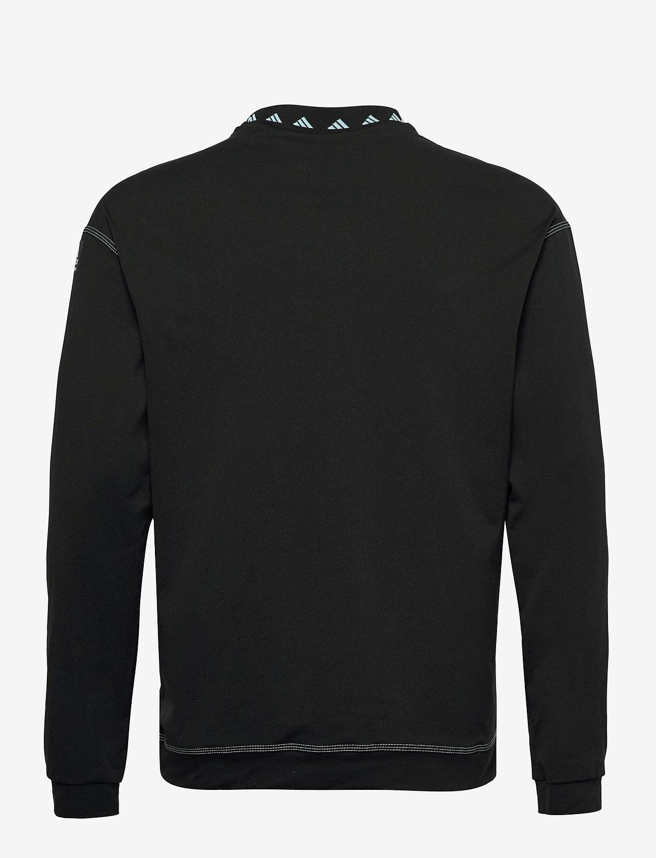 adidas Golf - EQPMNT WIND CRW - golf jackets - black - 1