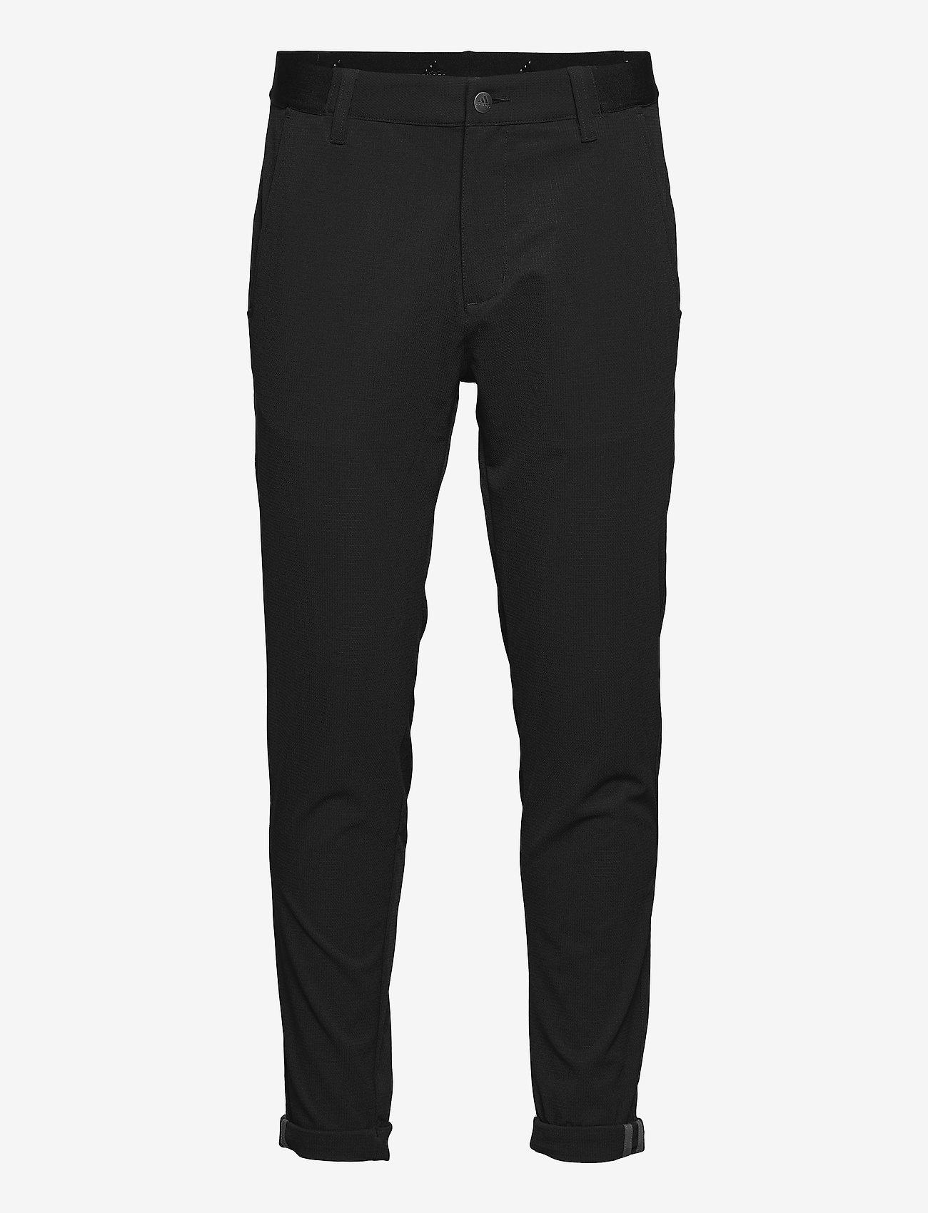 adidas Golf - PIN ROLL PANT - golf-housut - black - 0
