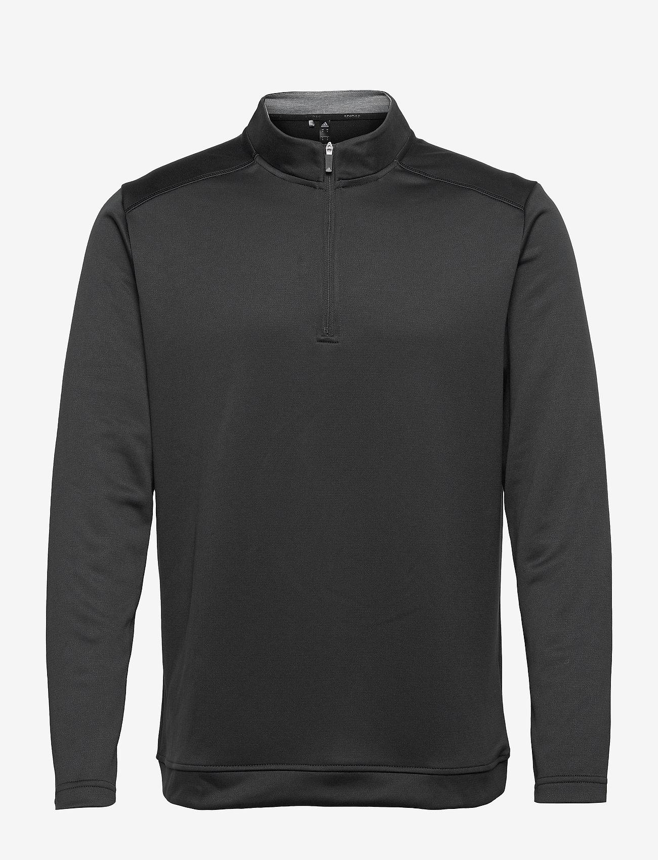 adidas Golf - CLUB 1/4 ZIP - hauts à manches longues - black - 1