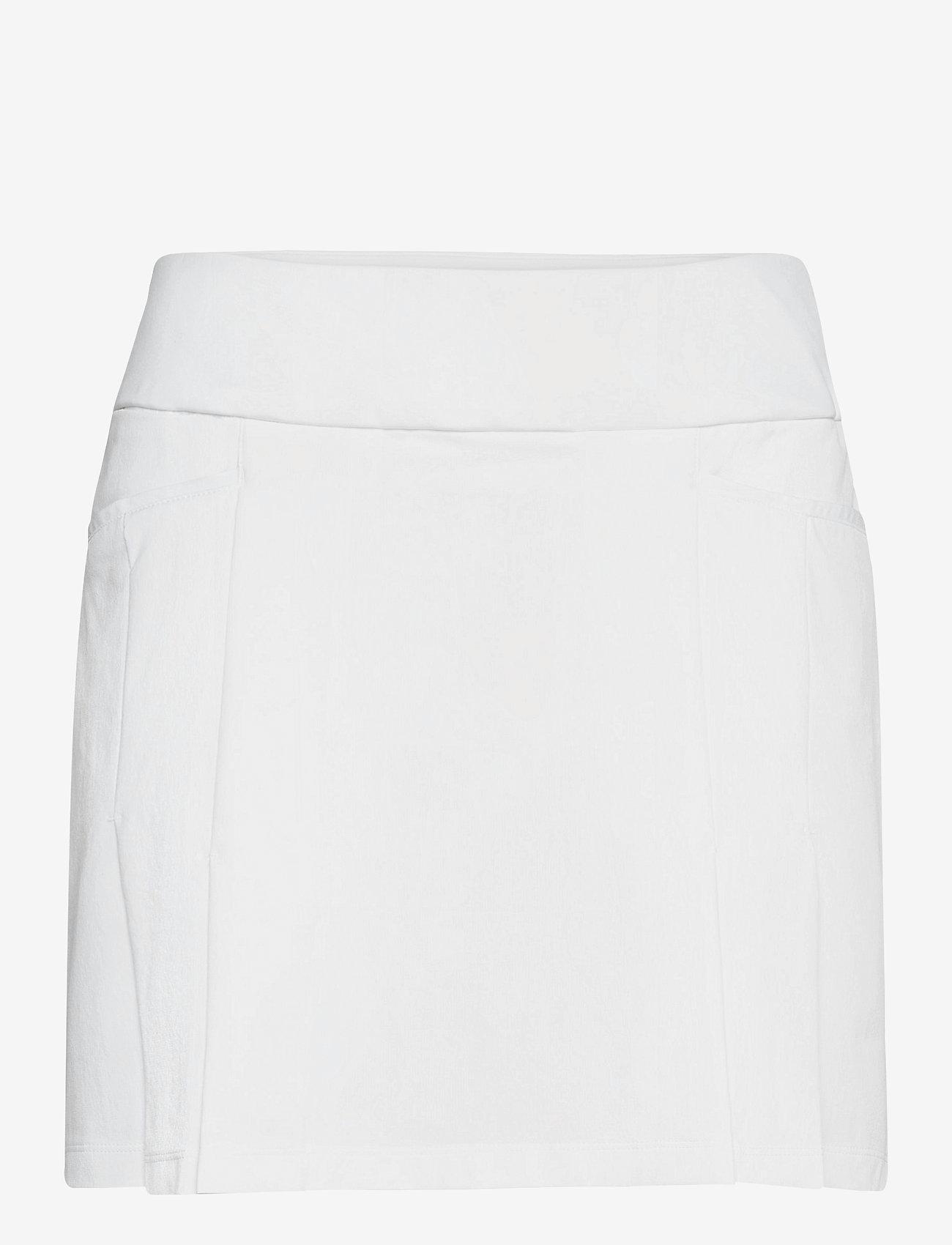 adidas Golf - UTL PLT SKT - sports skirts - white - 1