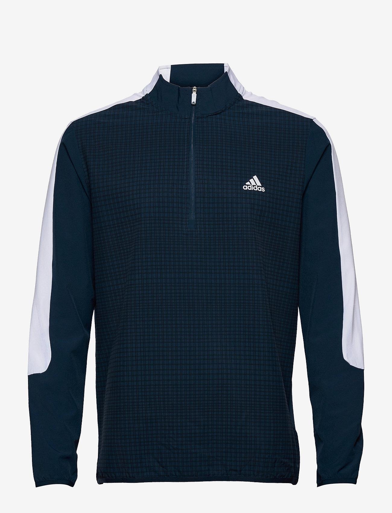 adidas Golf - PRINT 1/4 ZIP - sweats - crenav/black - 1