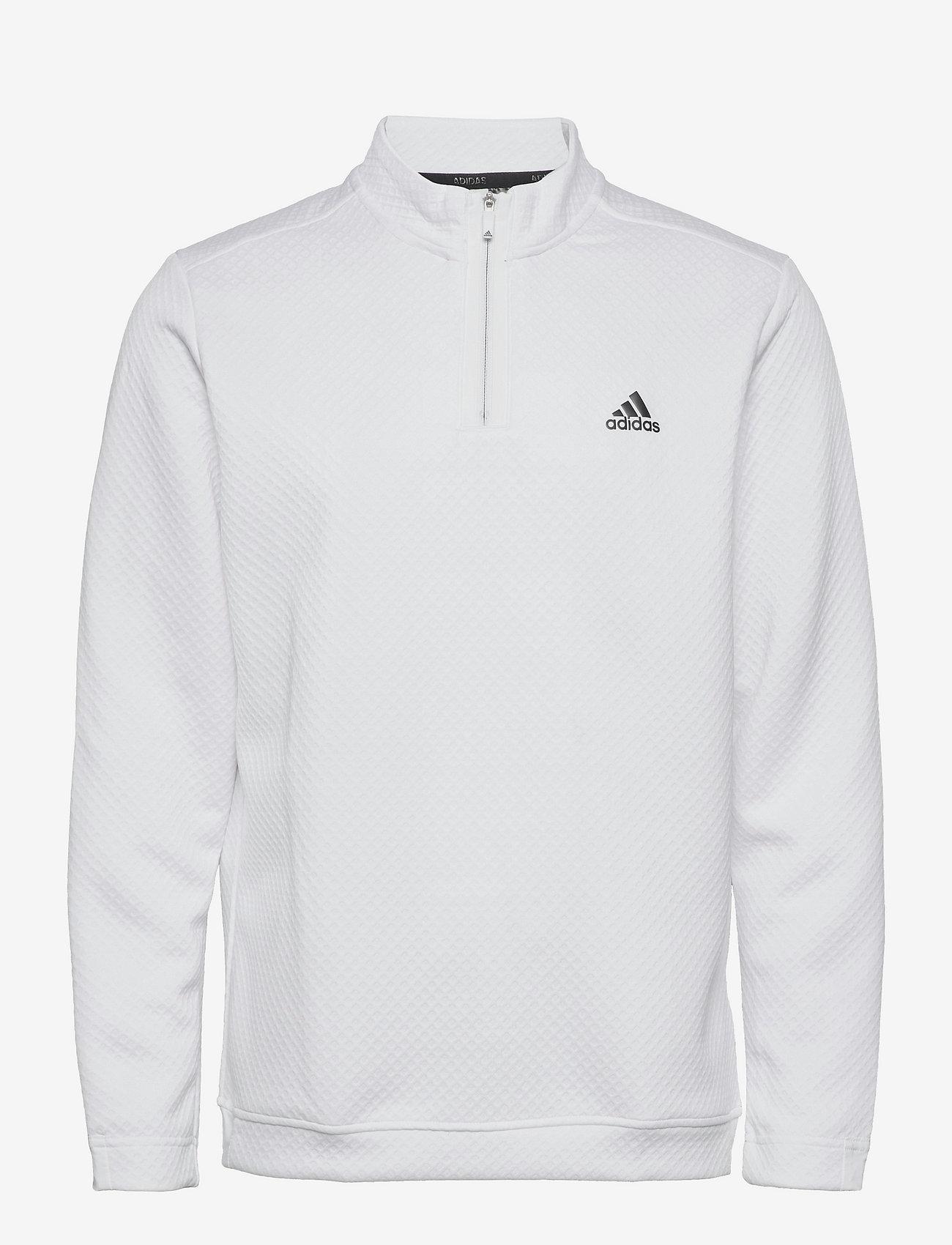 adidas Golf - DWR 1/4 ZIP - sweats - white - 1