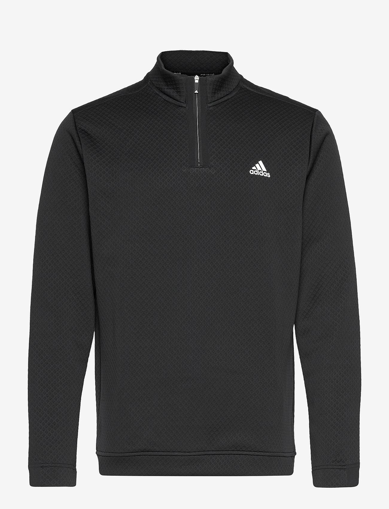 adidas Golf - DWR 1/4 ZIP - sweats - black - 1