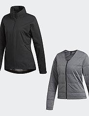 adidas Golf - W CLMPRF JKT - golfjakker - black - 9