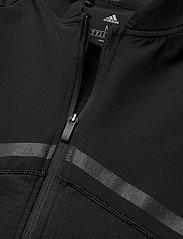 adidas Golf - HYBRID F ZIP J - golf jackets - black - 2