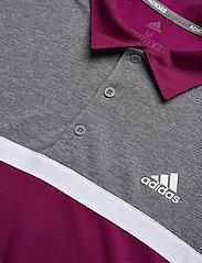 adidas Golf - Colorblk NVLTY - kurzärmelig - powber/blckme - 2