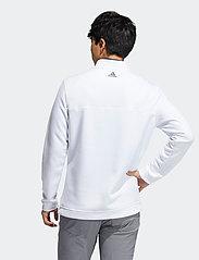 adidas Golf - CLUB 1/4 ZIP - hauts à manches longues - white - 3
