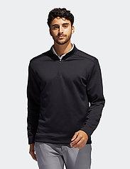 adidas Golf - CLUB 1/4 ZIP - hauts à manches longues - black - 0