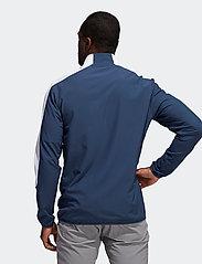 adidas Golf - PRINT 1/4 ZIP - sweats - crenav/black - 5